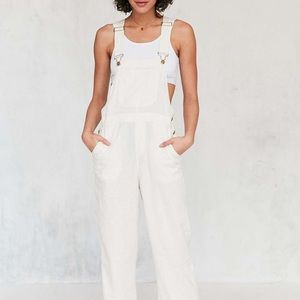 Urban Outfitters BDG Slater Linen Overalls Small
